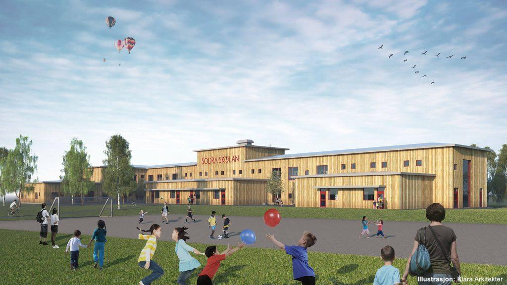 Södra Skolan er en nybygd barneskole i KL-tre.